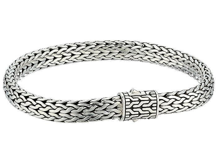 John Hardy  Classic Chain 7.5mm Bracelet (Silver) Bracelet