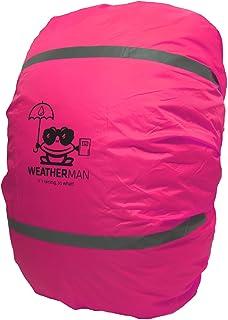 comprar comparacion WeatherMan Funda de Mochila niños cartera I Protector De Lluvia, Impermeable I Escuela, kindergarten, parvulario