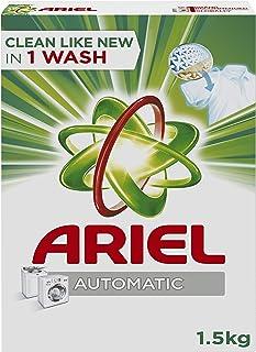 Ariel Automatic Powder Laundry Detergent, Original Scent, 1.5 KG