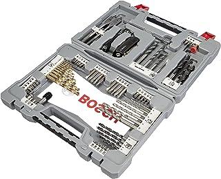 Bosch Professional bits/boren Premium-set (betonboor, tegelboor, universeelhouder, dieptestop, ratelschroevendraaier titaa...