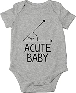 Acute Baby - Math Lovers Nerd Cute Novelty Funny Infant One-Piece Baby Bodysuit