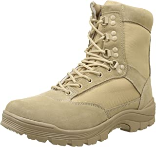 Tactical Bottines à fermeture Éclair YKK Kaki