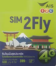 AIS Pan Asia Tourist Simcard with 4 GB in 8 Days for 16 Countries incl Japan Korea Taiwan India HK PH Malaysia etc