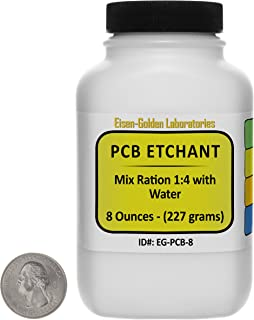 Printed Circuit Board Etchant [PCB] Dry Powder 8 Oz in a Space-Saver Bottle USA