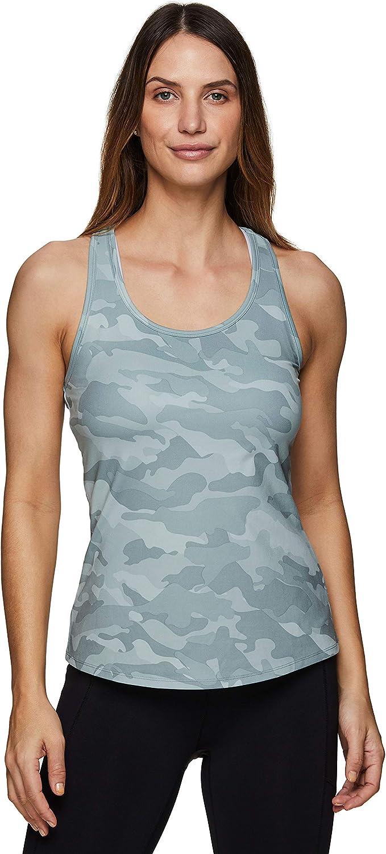 RBX Active Women's Fashion Basics Regular Length Super Soft Flowy Yoga Tank Top