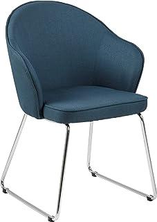 Amazon Brand - Movian Sils - Silla de comedor 585 x 57 x 815 cm azul