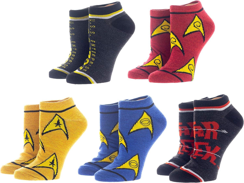 Star Trek 5 Pair Ankle Socks