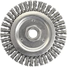 Weiler 804-79801 Dually Stringer Bead Knot Wire Wheel, 4 1/2