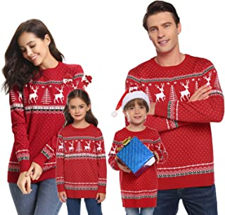 Best matching family ugly christmas sweaters Reviews