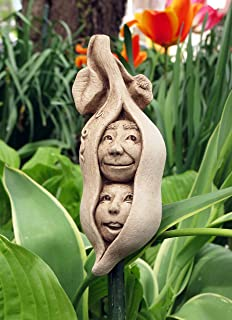 Carruth Studio Two Peas in a Pod Outdoor Wall Plaque