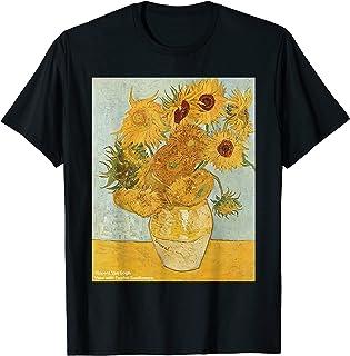 Vincent Van Gogh - Sunflowers - Famous Paintings T-Shirt