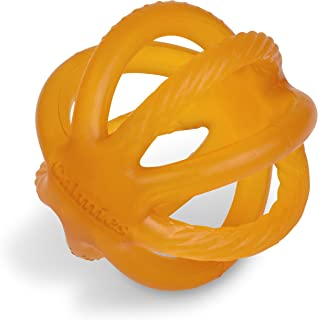 Calmies Teether for Babies Without BPA, Natural 100 Percent Rubber Toy for Infants, Plant Based, No Parabens, PVC or Phtha...