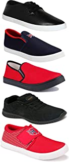 Shoefly Sports Running Shoes/Casual/Sneakers/Loafers Shoes for Men&Boys (Combo-(5)-1219-1221-1140-466-748)