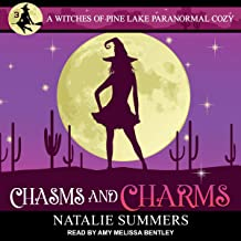 Chasms and Charms: Witches of Pine Lake Paranormal Cozy Series, Book 3
