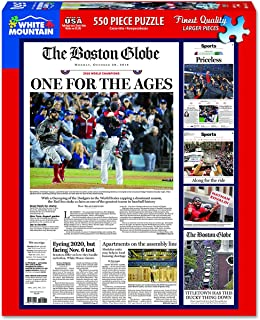 White Mountain Puzzles Boston Red Sox 2018 - 550 Piece Jigsaw Puzzle