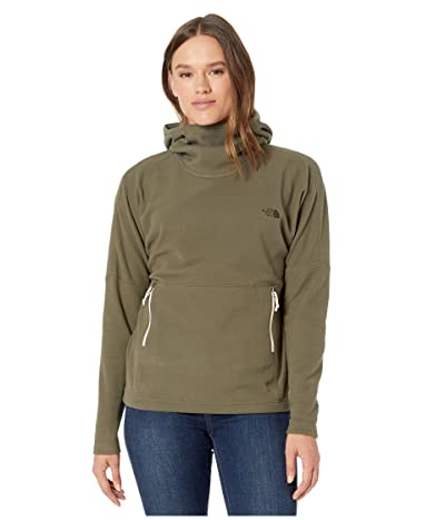 The North Face Glacier Pullover Hoodie 2.0 (New Taupe Green) Women