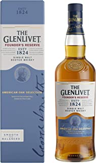 "The Glenlivet Founder""s Reserve Single Malt Scotch Whisky – Scotch Single Malt Whisky aus der Speyside Region – 1 x 0,7 L"