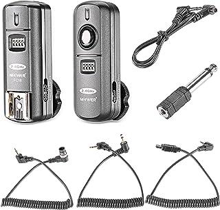 Neewer FC-16 Multi-Canal 2.4GHz 3-IN-1 - Disparador Flash Inalámbrico/ Flash Estudio con Obturador Remoto para D7100 D7000 D5100 D5000 D3200 D3100 D600 D90 D800E D800 D700 D300S D300 D200 D4 D3S D3X D2Xs
