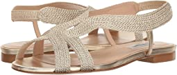 Pale Gold Rope Lurex/Soft Gold Metallic Nappa Leather