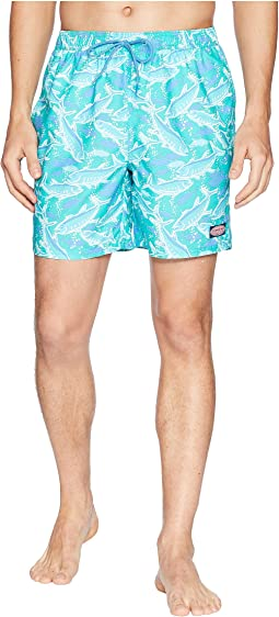School of Tuna Chappy Swim Trunks