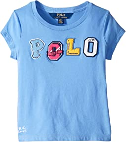Polo Jersey Graphic Tee (Toddler)