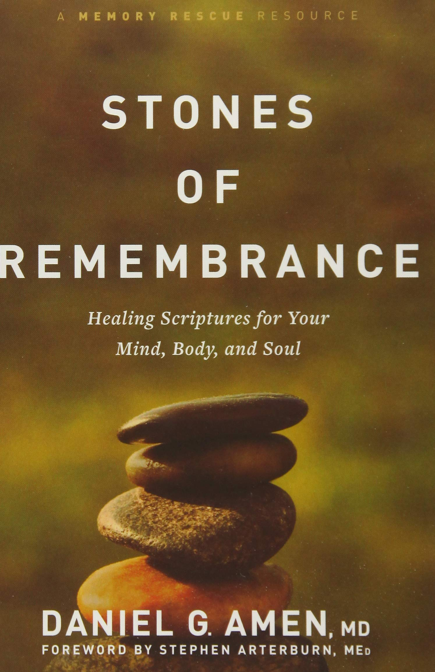 Image OfStones Of Remembrance: Healing Scriptures For Your Mind, Body, And Soul (Memory Rescue Resource)