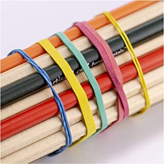 Officemate Assorted Size and Color Rubber Bands, 4 oz (82025)