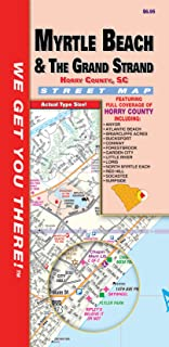 Myrtle Beach/Horry County SC Fold Map
