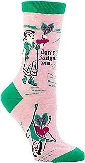 Blue Q Women's Novelty Crew Socks