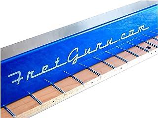 FretGuru Precision Sanding Beam Fret Leveler Leveling File Pro Luthier Guitar Tech Tool includes 100 240 320 sandpaper [FI...