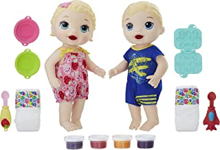Bonecas, Baby Alive,  C4050, Gêmeos Comilões - Hasbro, Loiros