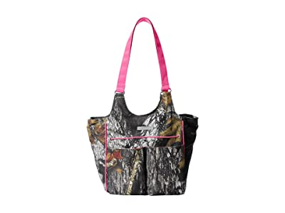 Ariat Mini Carry All (Mossy Oak/Pink) Shoulder Handbags