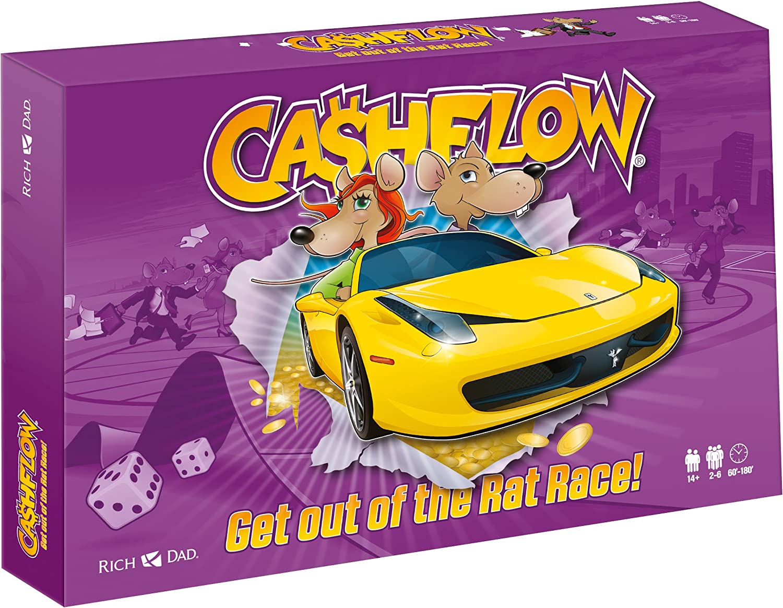 CASHFLOW  DIE ENGLISCHE VERSION  Rich Dad Investing Board Game by Robert Kiyosaki  2015 Edition  Updated Version of CASHFLOW 101 Board Game