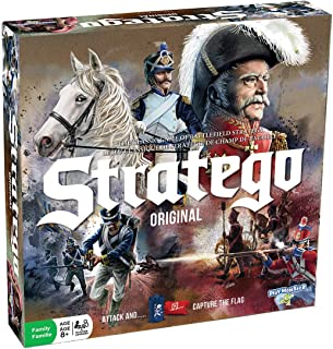 Stratego Original Game -- New Update - Classic Pawns with No Stickers!