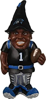 "FOCO NFL Carolina Panthers Cam Newton #1 Resin Player Gnome, 8"", Team Color"