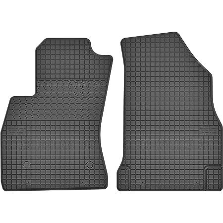 Ko Rubbermat 2 Stück Gummifußmatten Vorne Geeignet Zur Fiat Doblo Ii Bj 2009 2018 Ideal Angepasst Auto