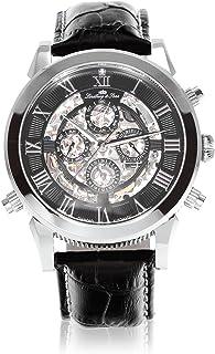 Lindberg & Sons - Lindberg&Sons Reloj analógico para Hombre de automático con Correa en Cuero SK14H011