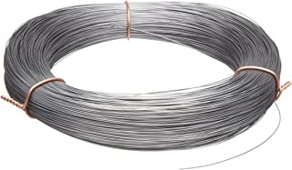High Carbon Steel Wire, Mill Finish #2B (Smooth) Finish, Grade #2B Smooth, Full Hard Temper, Meets ASTM A228 Specifications, 0.067