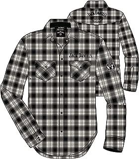 Jack Daniels Men's Plaid Western Snap Shirt - 15203982Jd-01