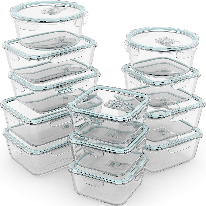 Razab Piece Storage Containers Airtight