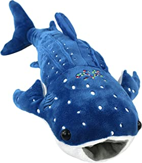 Houwsbaby Stuffed Shark Pillow for Baby Embroidery Plush Toy Birthday Gift Halloween Christmas, 20inch (Shark)