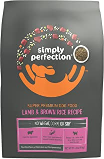 Simply Perfection Super Premium Lamb and Brown Rice Recipe