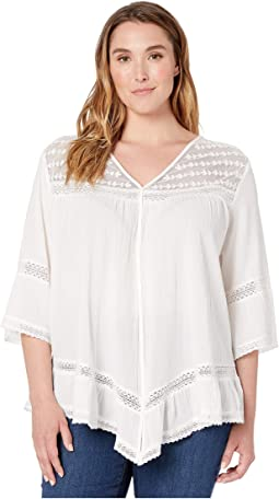 03dd0288 Women's 3/4 Sleeve White Shirts & Tops + FREE SHIPPING | Clothing