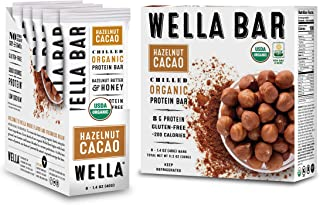 Wella Bar | Chilled Organic High Protein Bars | (Hazelnut Cacao)