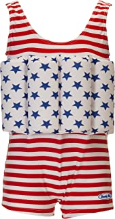 Beverly Kids Baby American Dream Uv 浮动泳衣,红色,尺码 116
