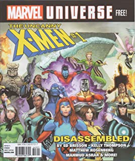 Marvel Universe Magazine Fall #1 (Uncanny X-Men #1: Disassembled; Kid Cable; Unstoppable Wasp; Spider-Verse; Guardians of the Galaxy; Spider-Gwen: Ghost Spider; Shuri; Killmonger; Conan; Fantastic 4)