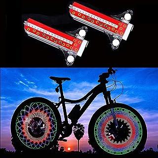 MIKIROY 2 PCS LED Bike Spoke Lights, Waterproof Bicycle...