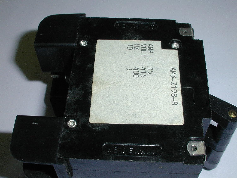 AM3-Z198-8 3 15 AMP 415V PIECE Award-winning store SWITCH Max 63% OFF STYLE BREAKER 1