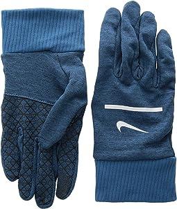 Heathered Sphere Running Gloves