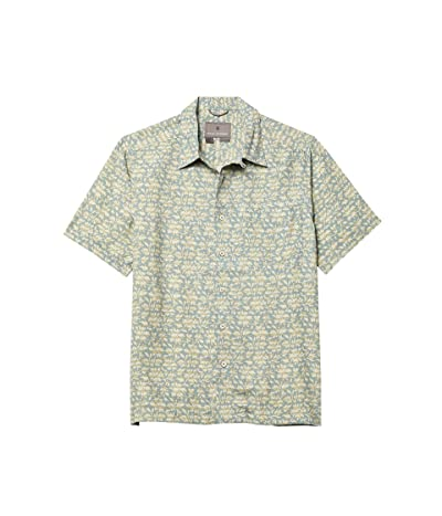 Royal Robbins Comino Short Sleeve Shirt (Arctic Blue) Men
